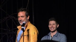Jeffrey Dean Morgan Full Panel VegasCon 2015 Supernatural