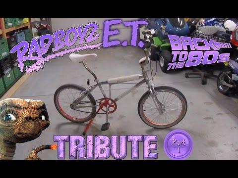 RadBoyz: Old School BMX Restoration Part 1 1986 Kuwahara Scamp E.T. Tribute Bike