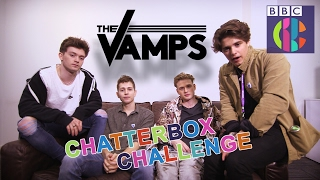 The Vamps | Chatterbox Challenge | CBBC