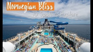 Norwegian Bliss Cruise: 10 Highlights on the Ship