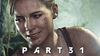 Scariest Moment in Uncharted 4 A Thief's End Walkthrough Gameplay Part 31 (PS4)