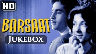 All Songs Of Barsaat {HD} - Raj Kapoor - Nargis - Shankar Jaikishan Hits - Old Hindi Songs
