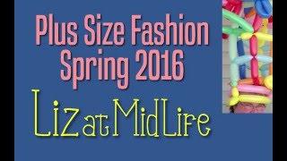 Spring 2016 Plus Size Fashion - Top Color