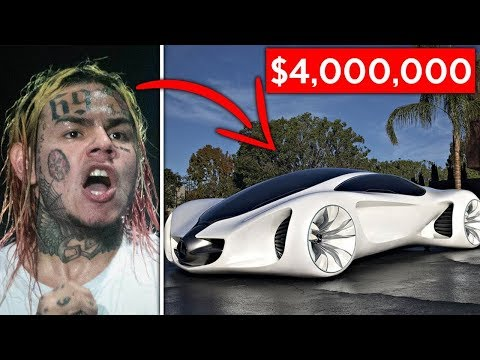 10 Expensive Items The Fed s Confiscated From 6ix9ine