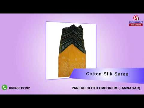 Banarasi And Bandhani Sarees By Parekh Cloth Emporium, Jamnagar