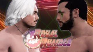 FaM Royal Rumble - Cameron Bash vs 2TM Promo (WWE 2K17)