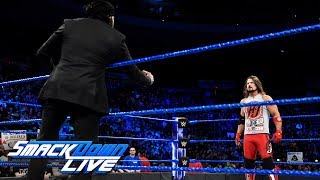 AJ Styles and Jinder Mahal come face to face: SmackDown LIVE, Dec. 12, 2017