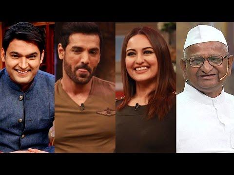 Funny! Kapil Sharma Mocks John Abraham, Sonakshi Sinha & Anna Hazare