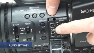 Video camera instructions Sony HDR AX2000
