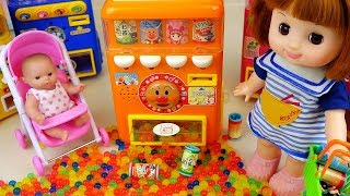 Baby Doli Vending machine toys with orbeez eggs baby doll play
