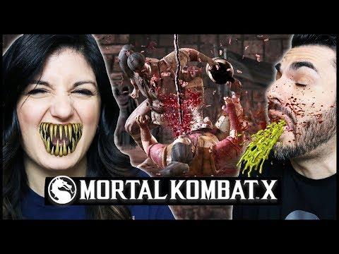 MORTAL KOMBAT XL: NUOVE FATALITY DA VOMITO!