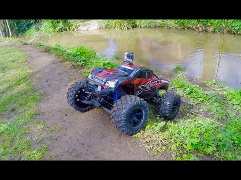 Traxxas X-MAXX Adventure Series #11 At The Creek 45MPH+