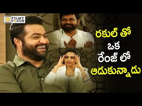 Xxx Mp4 NTR Making Fun Of Rakul Preet Rare Unseen Video Filmyfocus Com 3gp Sex