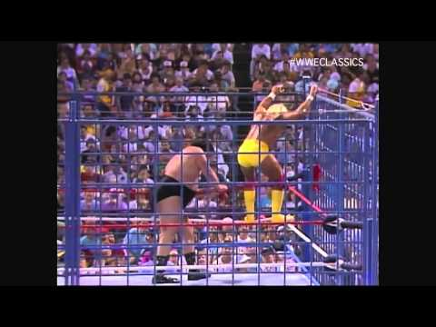 WWF WWE Wrestlefest 1988 Hulk Hogan vs. André the Giant in a Steel Cage