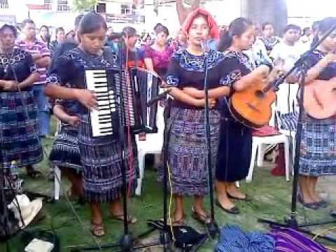 Ixoc Pasaguay Joyabaj Conjunto Virgen de Guadalupe 2014