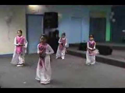 DANZA Y PANDERO ASI COMO DAVID DANZABA danza niñas BY KARLA LAINEZ