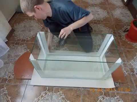 Ремонт аквариумов своими руками