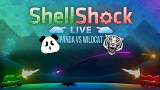 Epic Tank Showdown! Panda vs Wildcat 1v1 Shootout - SHELLSHOCK LIVE FUNNY MOMENTS
