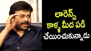 Chiranjeevi about Veena Step in Khaidi No 150 Movie    Chiranjeevi about Lawrence - Filmyfocus.com