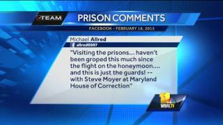 Top prison aide fired over inappropriate Facebook post