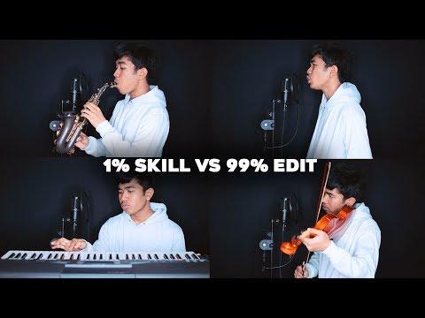 1% SKILL MUSIK 99% EDITAN