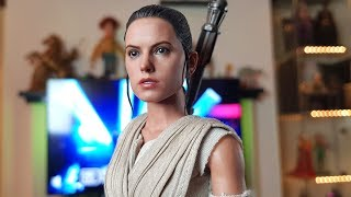 HOT TOYS REY REVIEW STAR WARS THE FORCE AWAKENS 1/6 SCALE FIGURE