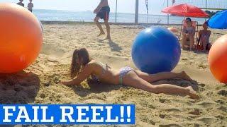 Yoga Ball Tricks & Flips - FAIL REEL! |  Exercise Ball Fails