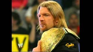 WWE Triple H as World Heavyweight Champion 2005 HD