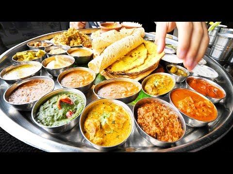 Xxx Mp4 Enter CURRY HEAVEN Mumbai S BIGGEST Thali 38 Items BEST Indian Street Food In Mumbai India 3gp Sex