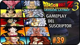 DRAGON BALL Z BUDOKAI TENKAICHI 3 LATINO GAMEPLAY DEL SUSCRIPTOR 39