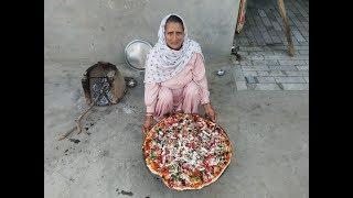 VEG PIZZA RECIPE | tawa pizza recipe in hindi | how to make pizza at home | homemade pizza recipe