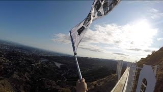 Climbing The Hollywood Sign! (Official Unreleased Footage)