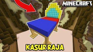 KASUR KERAJAAN BERLAPIS DIAMOND DAN GOLD - Minecraft Build Battle #19