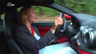 Fifth Gear review of the Ferrari F12 Berlinetta