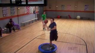 The Big Bang Theory - Sheldon vs. Kripke (Basketball Match)