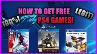 HOW TO GET FREE PS4 GAMES 2016