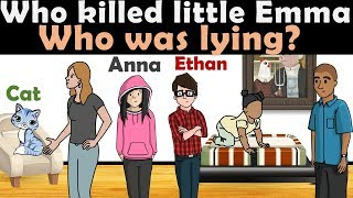 5 RIDDLES Popular On Murder Mystery & Crime | Who Did It |Sherlock Riddles Popular in United States