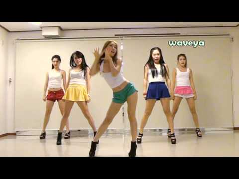 PSY싸이 GANGNAM STYLE 강남스타일 Waveya 웨이브야 Korean dance team