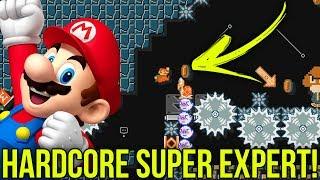 HARDCORE SUPER EXPERT, COMO DEVE SER! – Super Mario Maker (SUPER EXPERT)