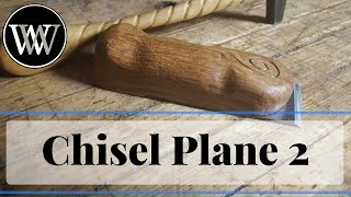 How To Make a Flat Chisel Plane for Hand Tool Woodworking