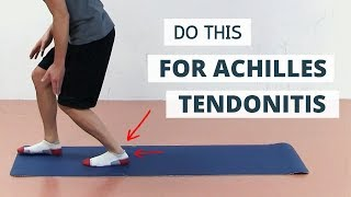 Why Common Achilles Tendonitis Treatment FAILS (and 3 Exercises To Do)