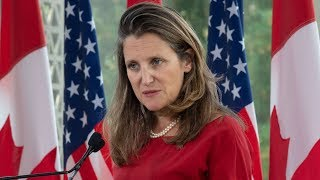 Freeland: If Russia wants to rejoin G7 it must leave Crimea