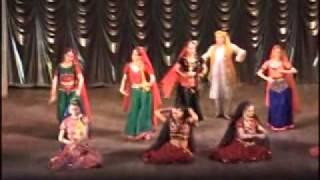 Folk Dance for Uttar Pradesh State Of India Tarang Moscow