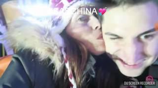 I baci più belli di Sascha e Sabrina 💘 #saschina