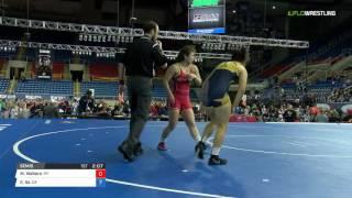 Cadet WM 138 Semis - Mika Walters (NY) vs. Emily Se (CA)