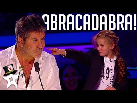 Real Life Hermione Granger Puts A Spell on Simon Cowell Magicians Got Talent