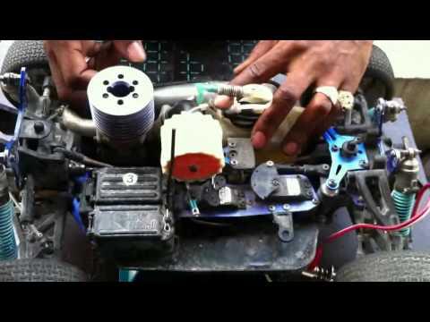 Rodage moteur thermique rc tuto