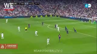 Real Madrid vs Barcelona 2017/8/16