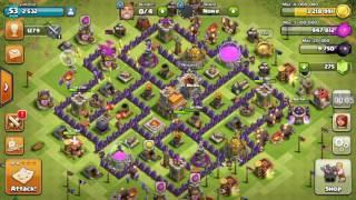 Chiếm clans of clansh với quân hall 7