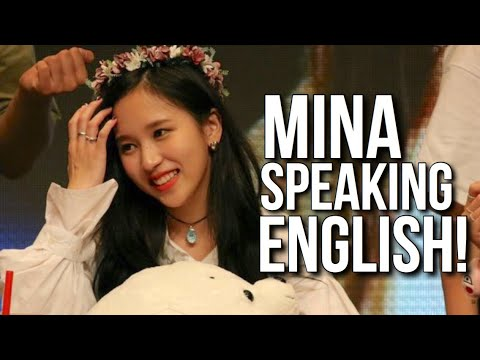 Mina speaking English